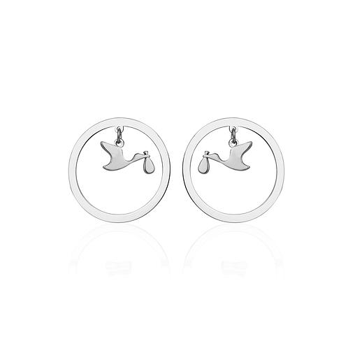 Cerchio Stork Earring