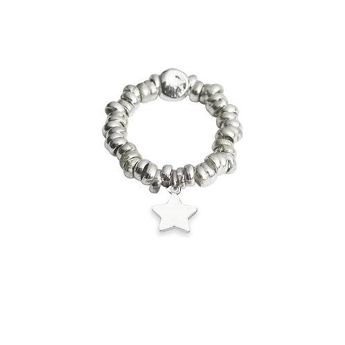 Glossy Star Ring