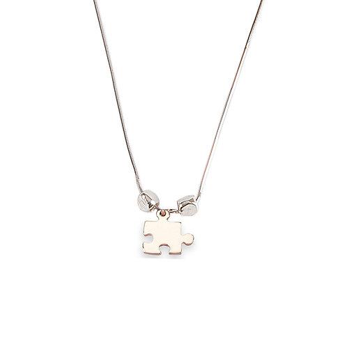 Shiny Puzzle Necklace