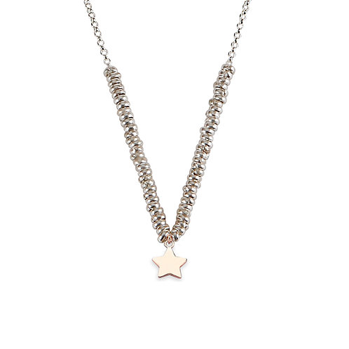 Glossy Star Necklace