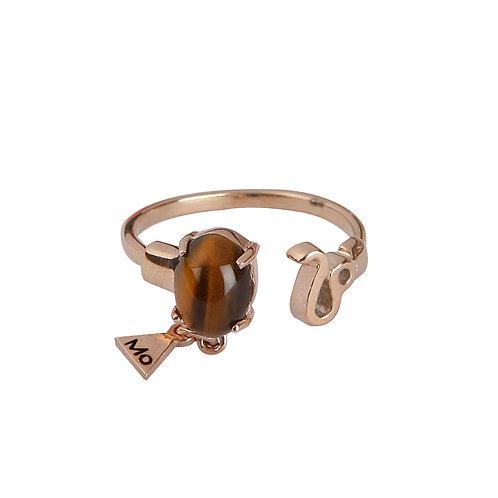 Classy Leo Ring
