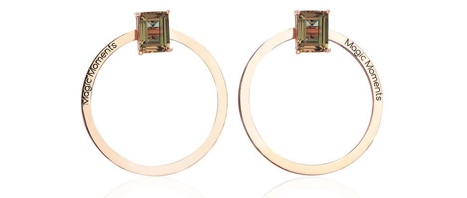 Sultanite Earring