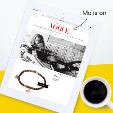 Mo is on Vogue Italia