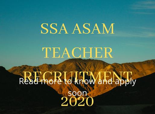 Sarkari Naukri: SSA Recruitment 2020 golden opportunity to get job under Sarva Shiksha Abhiyan
