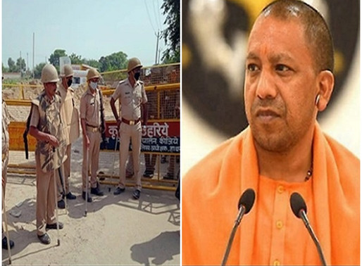 UP government in Hathras case, suspended 5 policemen.