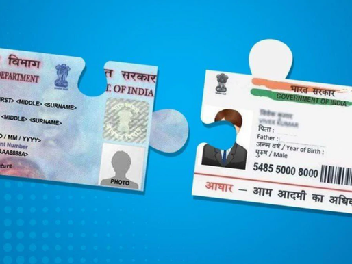 Link Aadhar Card with PAN Card online by following this simple step