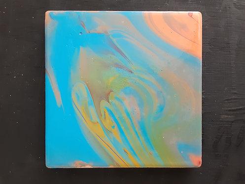 Acrylic Ceramic Coaster - Kristina