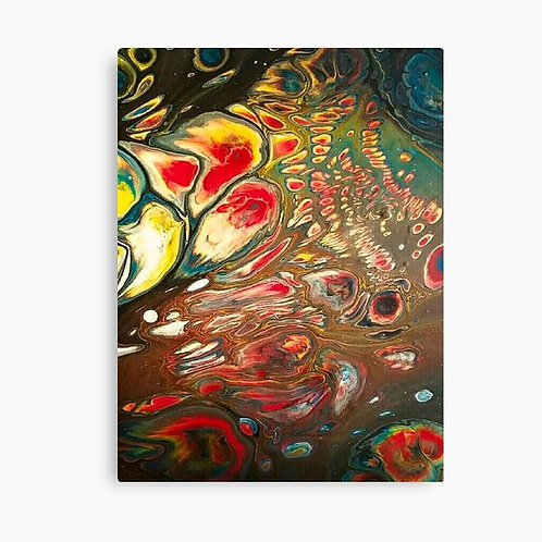 Space Bubbles Canvas Wall Art