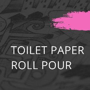 Toilet Paper Pour Tutorial