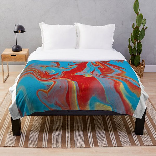 Blue Unicorn Blanket