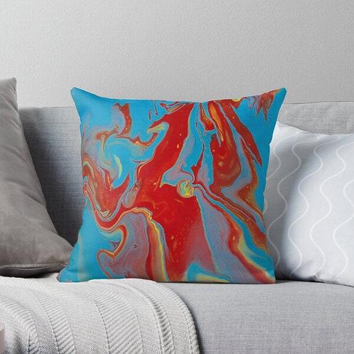 Blue Unicorn Pillow