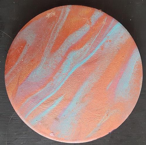 Acrylic Ceramic Coaster - Corrine
