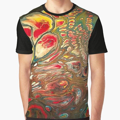 Space Bubbles Graphic T-Shirt