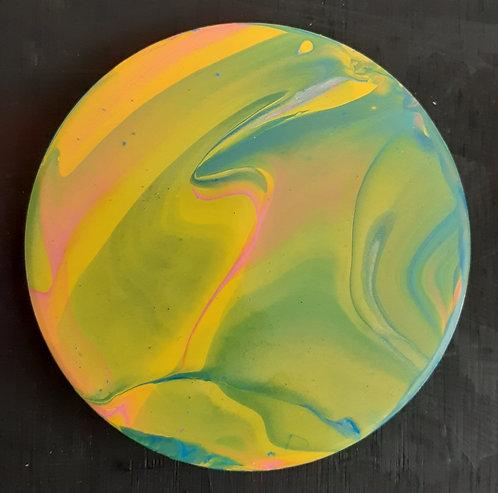 Acrylic Ceramic Coaster - Bri