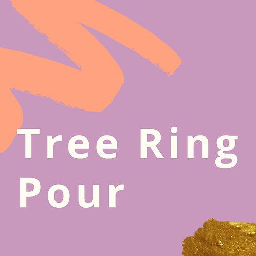 Tree Ring Pour Tutorial