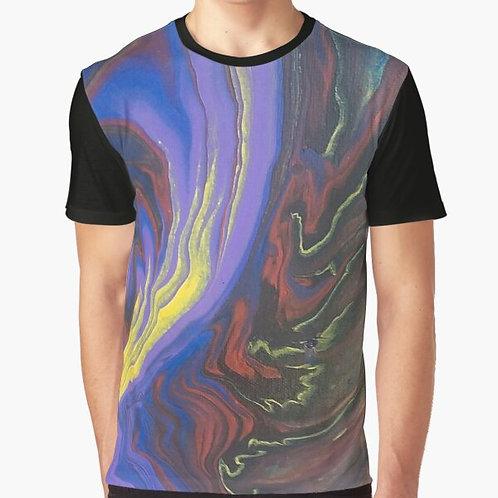 Purple Pizzazz Graphic T-Shirt