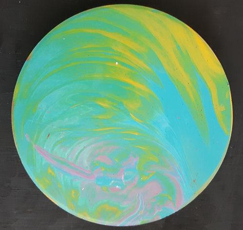 Acrylic Ceramic Coaster - Ursula