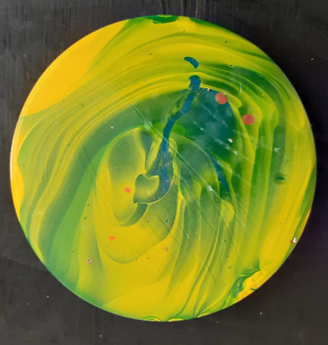 Acrylic Ceramic Coaster - Sammi