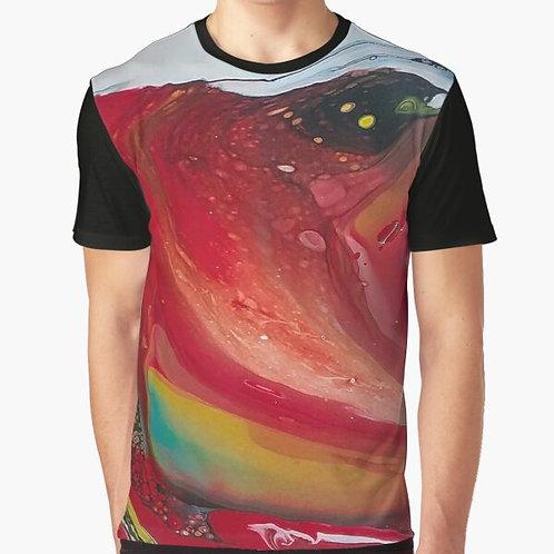 Rainbow Light Graphic T-Shirt