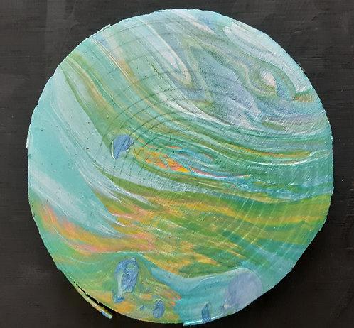 Acrylic Wooden Coaster - Kathrine