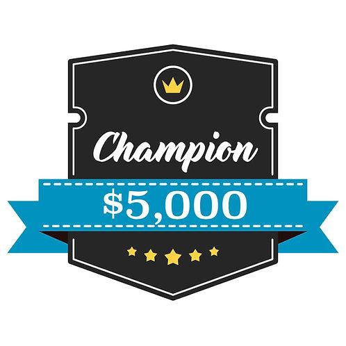 Champion Sponsorship