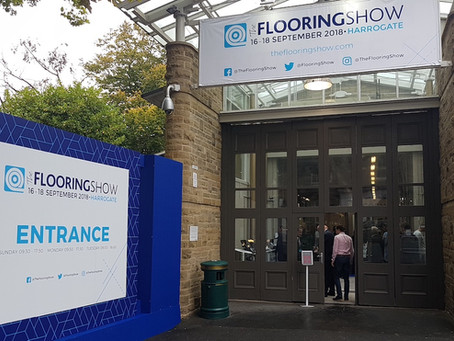 Things you may have missed at the Harrogate Flooring Show 2018...