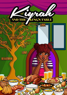 COVER ART FOR KIYRAH AND THE KING'S TABL