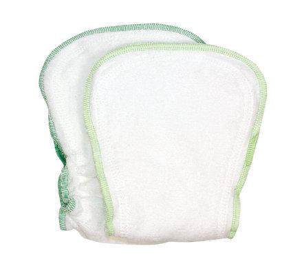 Inserti per il pannolino taglia unica, 2 pz