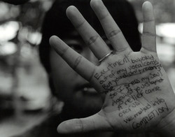 People Paper Hand 2001