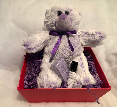 """""""My Little Valentine's"""" Lavender Cuddle Bear SORRY SOLD OUT"""