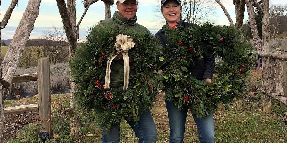 Christmas Wreath Workshop #4
