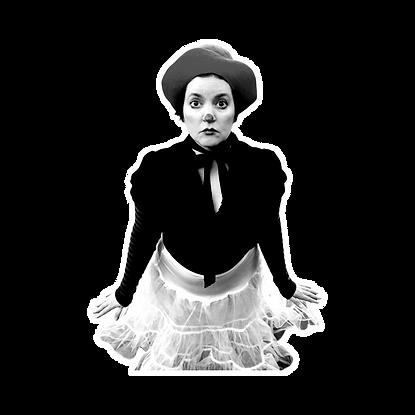 Laura Geiger clown