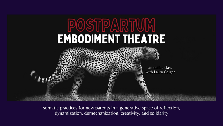 Postpartum Embodiment Theatre