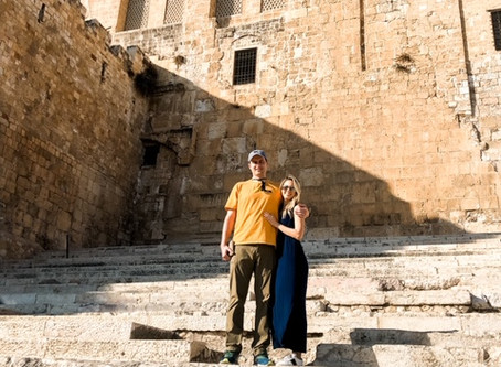 BONUS! Our Day by Day Israel Itinerary, Pictures, & Scripture (from my Husband's Perspective!)
