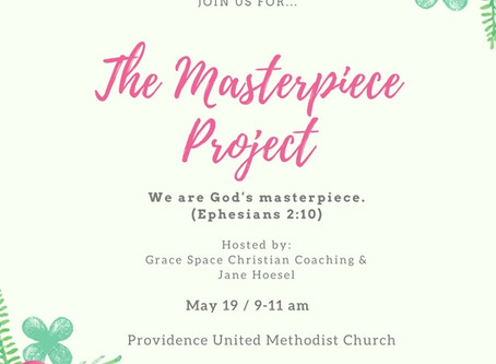 Join Me at The Masterpiece Project!
