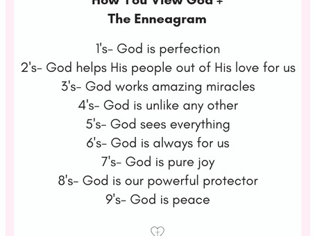 How You View God + the Enneagram