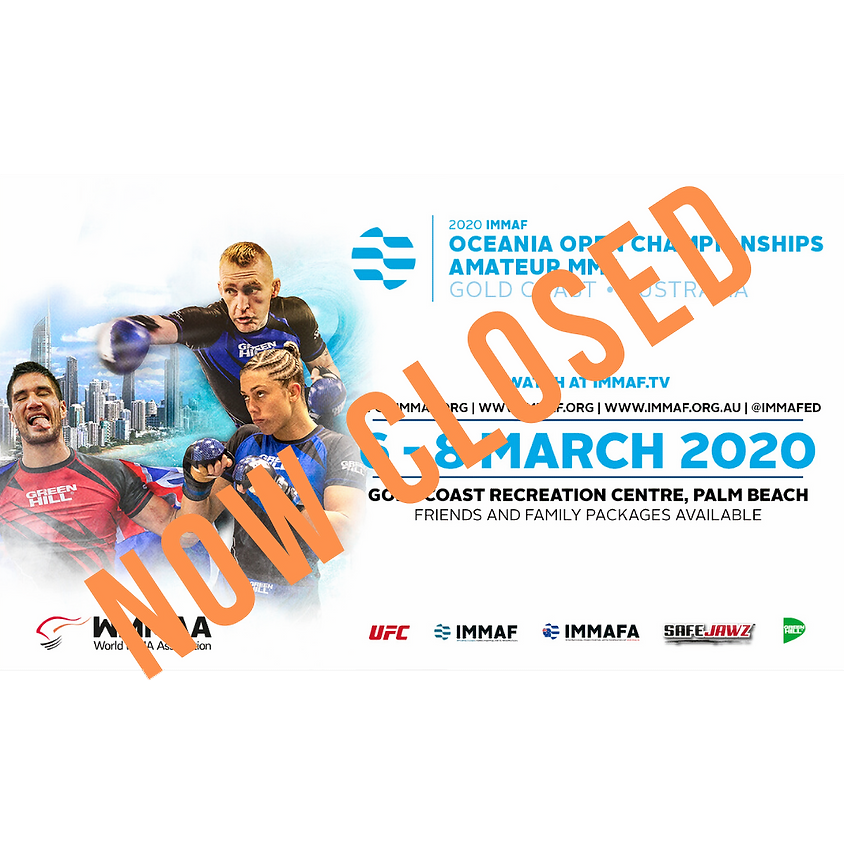 IMMAF OCEANIA ATHLETE SUBMISSION