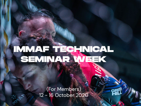 IMMAF ANNUAL TECHNICAL SEMINAR GOES VIRTUAL