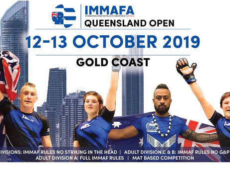 QUEENSLAND IMMAFA OPEN