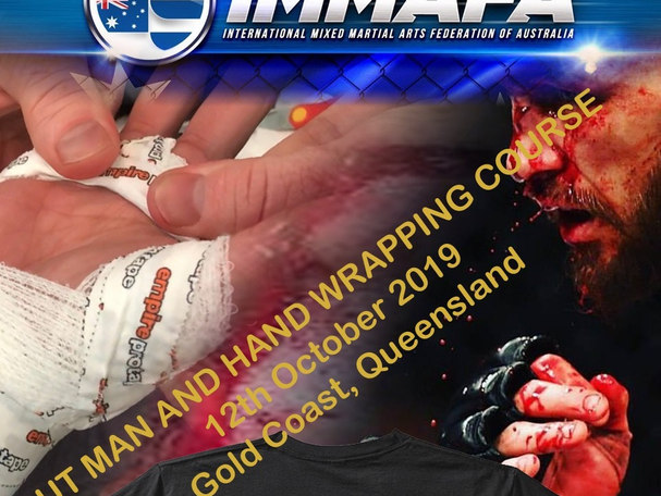 IMMAFA Cutman course poster