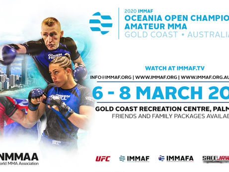Registrations for the IMMAF Oceania on the amazing Gold Coast are now open!