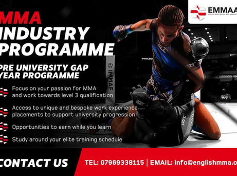 English MMA Association creating exciting pathways