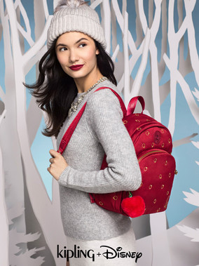 Kipling Disney Snow White Side Red Bagpa