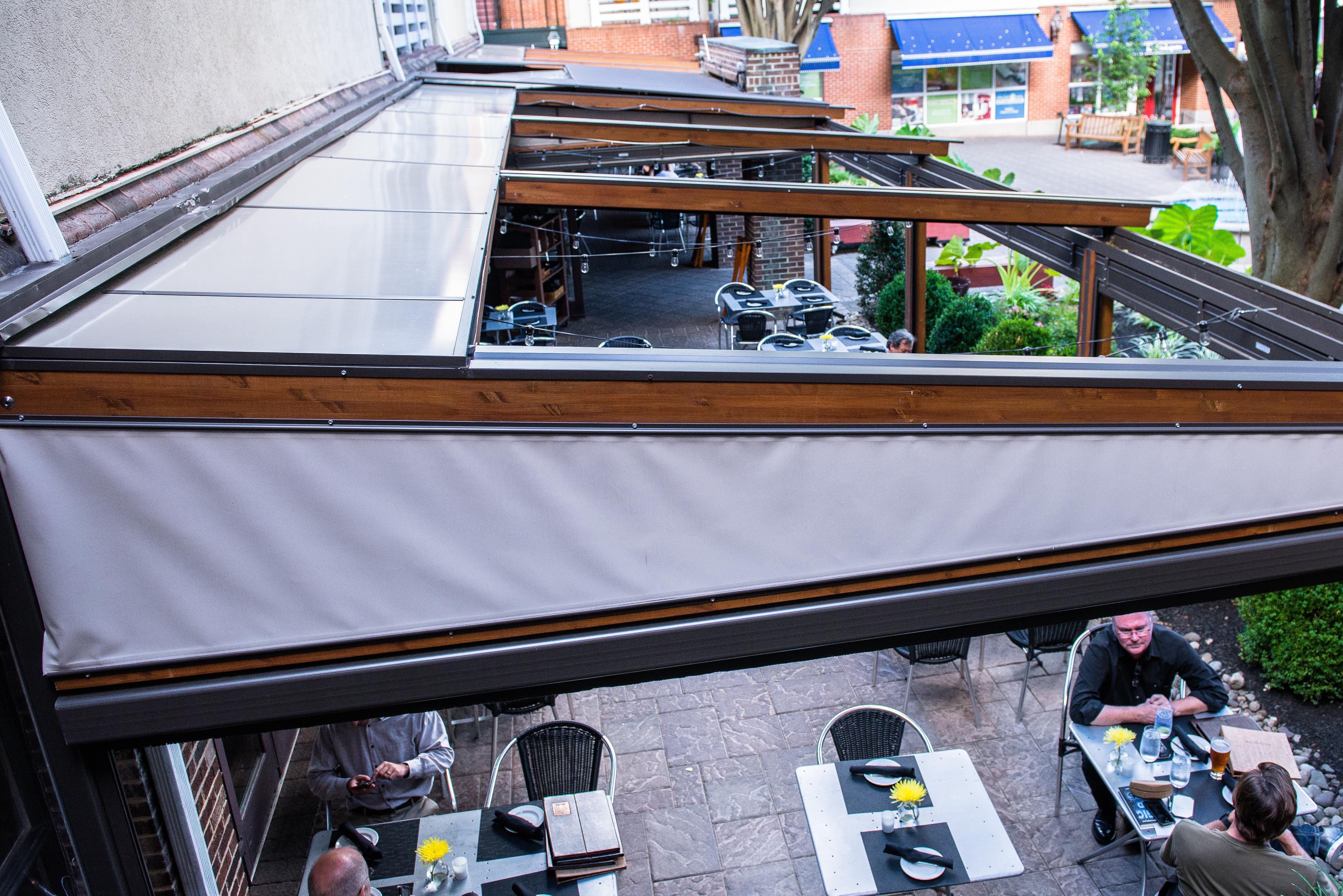 Gennius Retractable Roof System