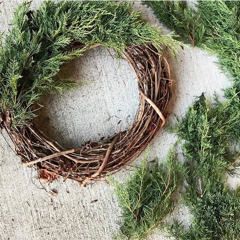 Wreath and Outdoor Planter Workshop - SOLD OUT