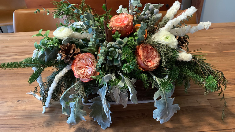 Design with Me - Winter Centerpiece: Adult + Child