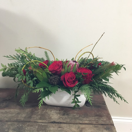 Winter and Holiday Centerpieces