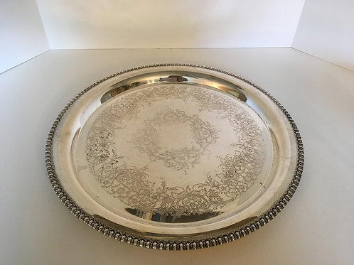 Assorted Silver Platters