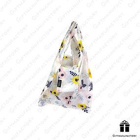 ถุงผ้าพับได้ ของพรีเมี่ยมรักษ์โลก Foldable Bag Eco-friendly Bag ของพรีเมี่ยม สั่งผลิตถุงผ้าพับได้พร้อมโลโก้ โรงงานถุงผ้าพับได้รูปตุ๊กตา