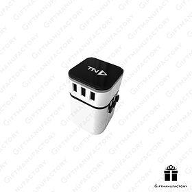 Universal Adapter ปลั๊กแปลงไฟทั่วโลก สั่งทำปลั๊กแปลงไฟพร้อมโลโก้ ของพรีเมี่ยมอุปกรณ์ไอที ของพรีเมี่ยม ของพรีเมียม โรงงานผลิตของพรีเมี่ยม